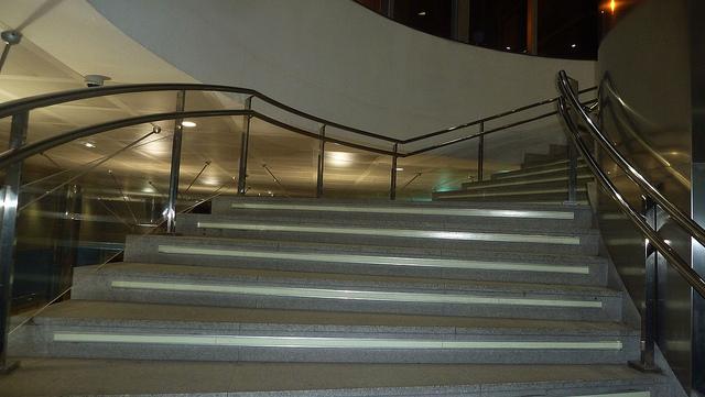 big public steps