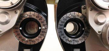Eyesight-testing lenses